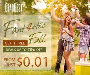Fall GearBest Promotion