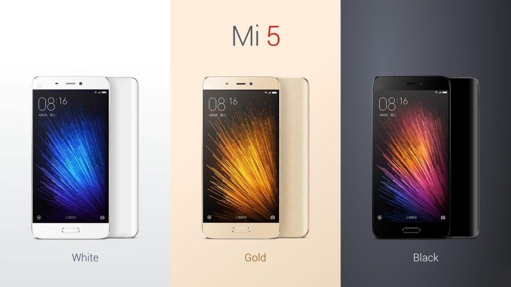 XiaoMi Mi5 515 Inch 3D Glass Body 4G Smartphone MIUI 8 Snapdragon 820 64bit Quad Core 215GHz 3GB RAM 64GB ROM 160MP Rear Camera Type C NFC Front
