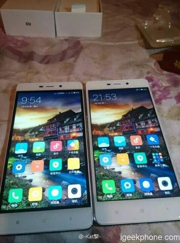 Xiaomi Redmi 4 Pro Design mit schmaleren schwarzen Rahmen - China ...