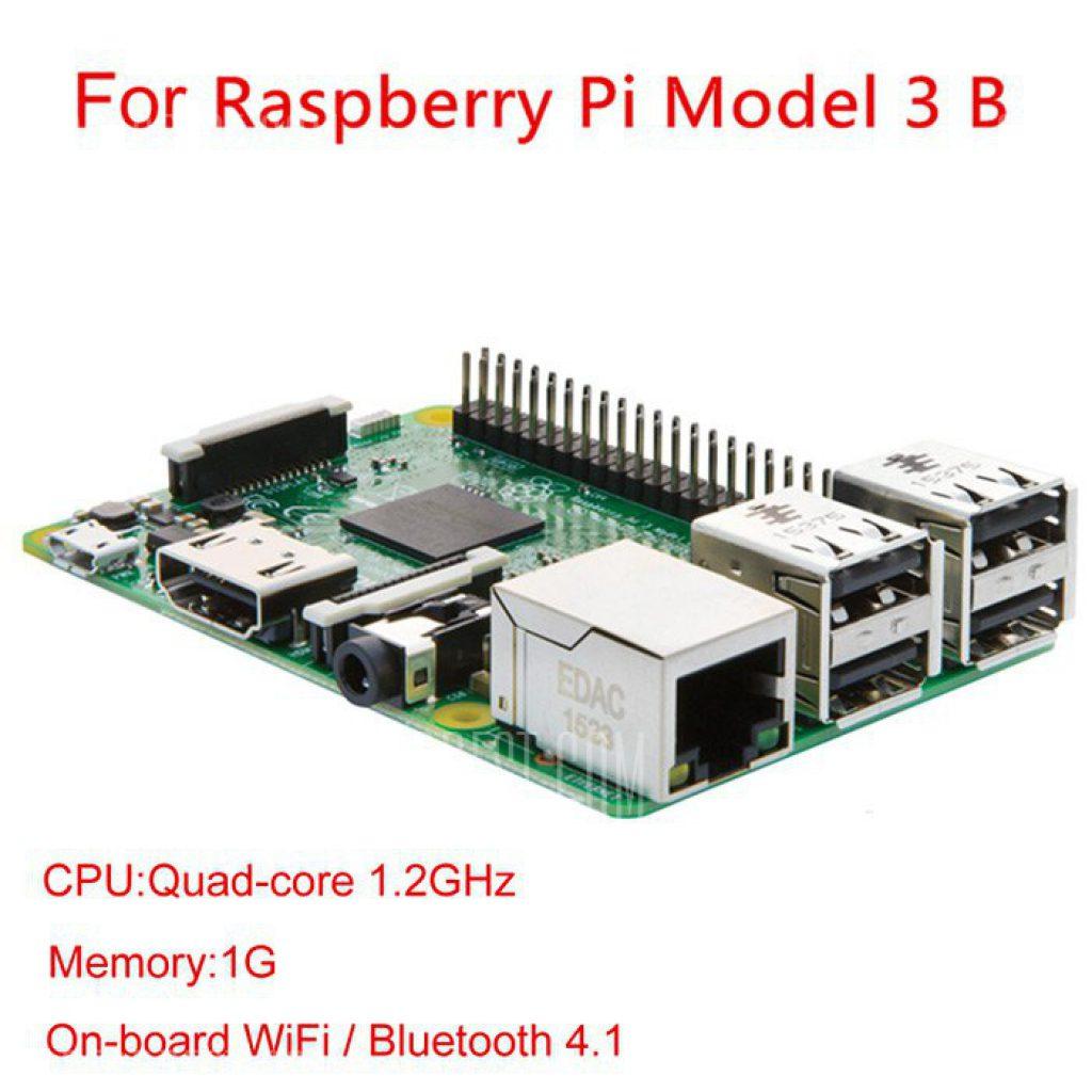 26 Mit Gutschein Fr Raspberry Pi Model 3 B Motherboard English Paket Modell Erweiterungskarte Verabschiedet 12ghz 64 Bit Vierkern Arm Cortex A53 Cpu Die Schneller Ist Als Gewhnliches Board