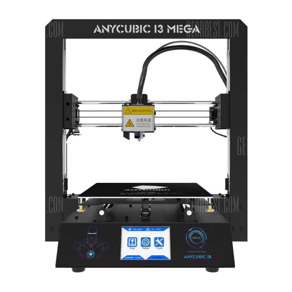 $375 with coupon for Anycubic I3 MEGA Full Metal Frame FDM 3D ...