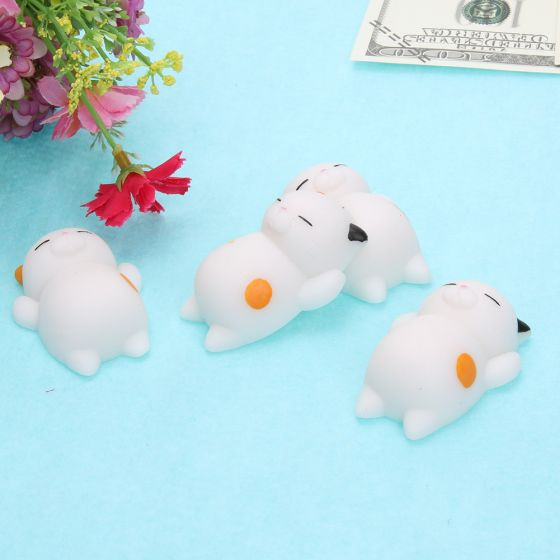 Squishy Stretchy Animals : Squishy Cute Mini Squeeze Stretchy Animal Healing Stress Calico Cat, 15% OFF   USD3.40 Now from ...
