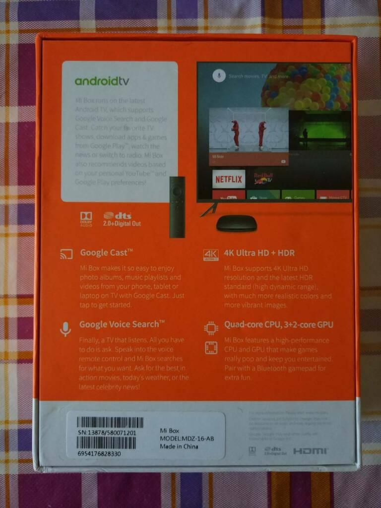 Xiaomi Mi TV Box - International Version (Review) - China
