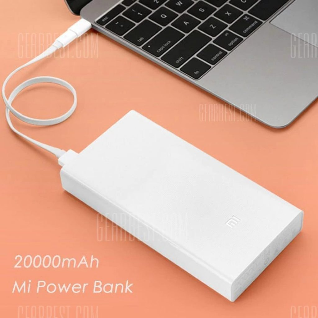 22 With Coupon For Original Xiaomi Mi 20000mah Mobile Power Bank Powerbank Pro 2 10000mah Quick Charge Brand New And High Quality Capacity Enough Daily Use Dual Usb Output Design Charging Two Devices Simultaneously X