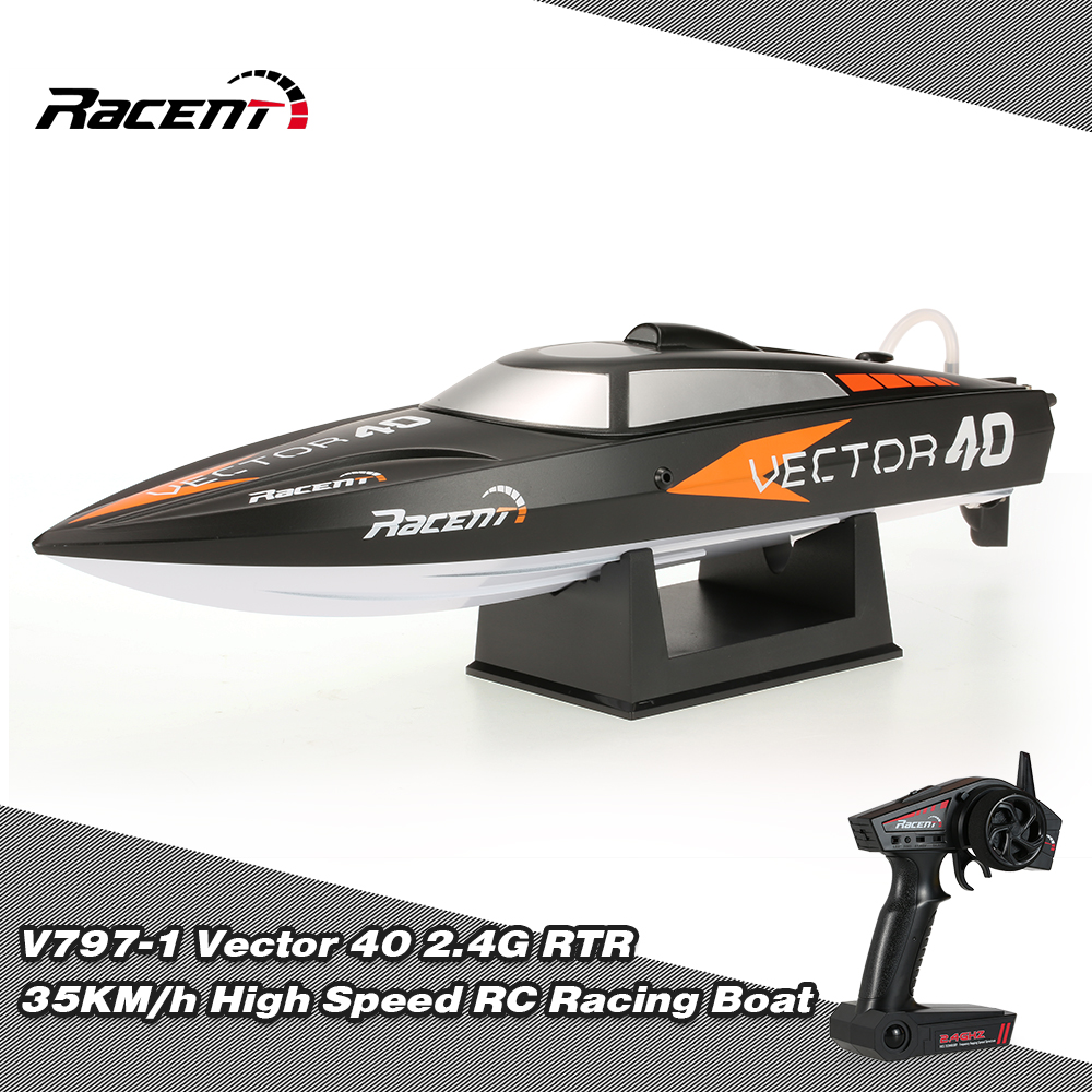 Only $52.99 For Original Racent V797-1 Vector 40 RC Racing Boat from ...