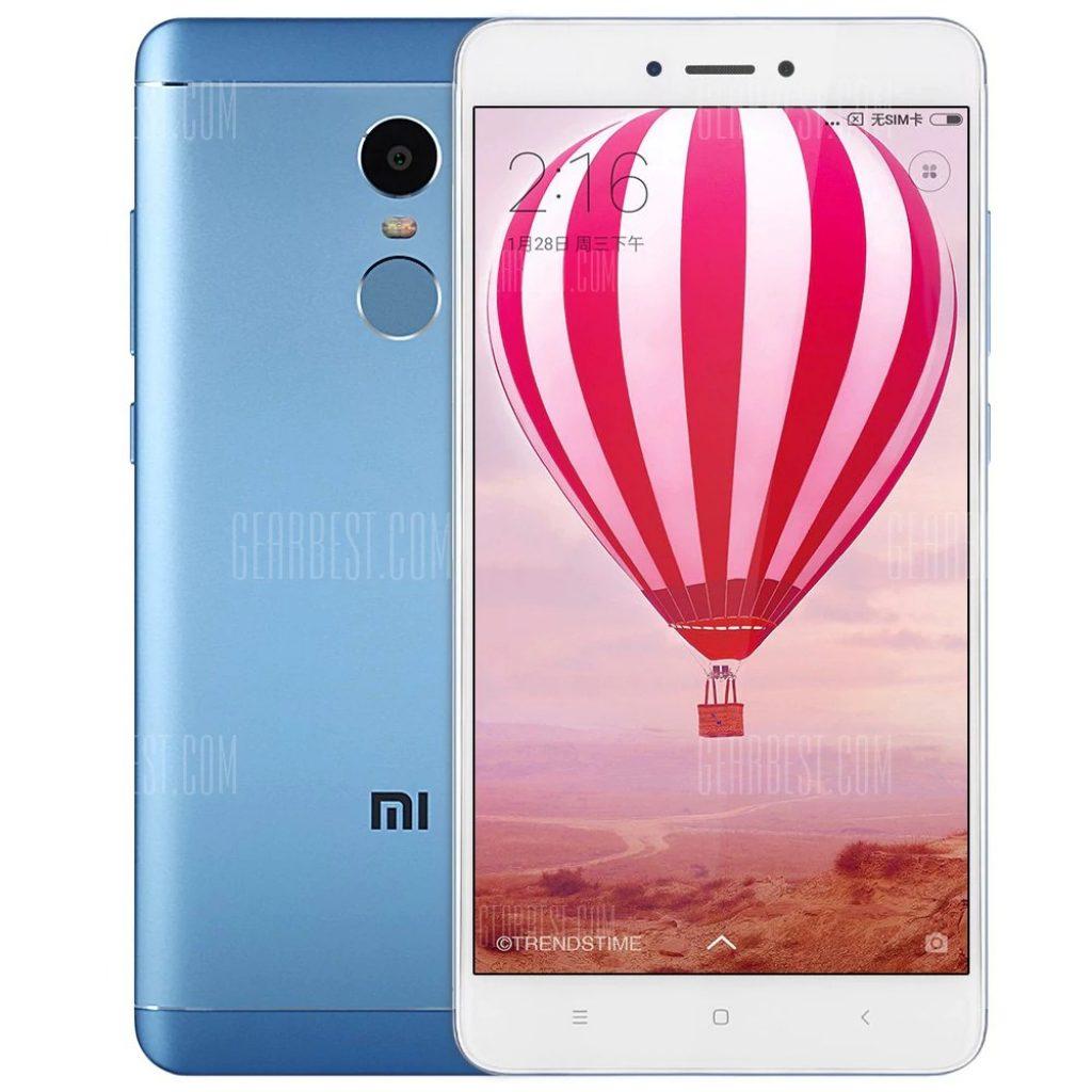 Xiaomi Redmi Note 4X 4G Phablet 55 Pouces Android 60 Snapdragon 625 Octa Core 20GHz 4GB Memoire RAM 64GB ROM 130MP Lecteur Dempreintes Digitales De