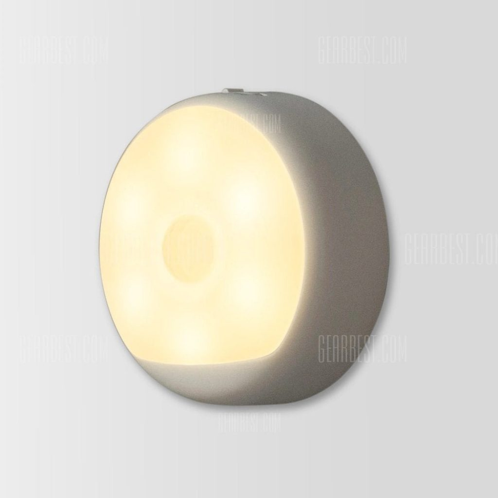 12 with coupon for xiaomi yeelight usb powered small night light