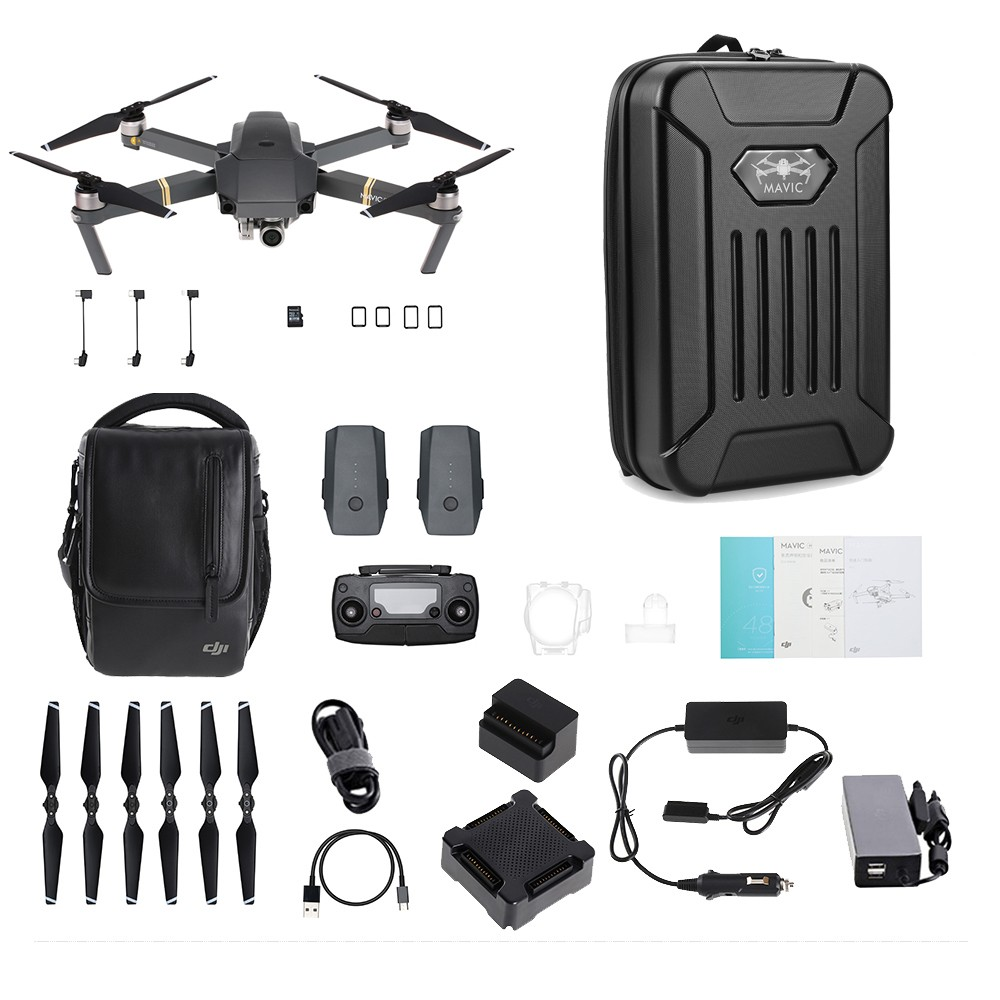 50 Off Dji Mavic Pro Fly More Combo With Shoulderbag Free