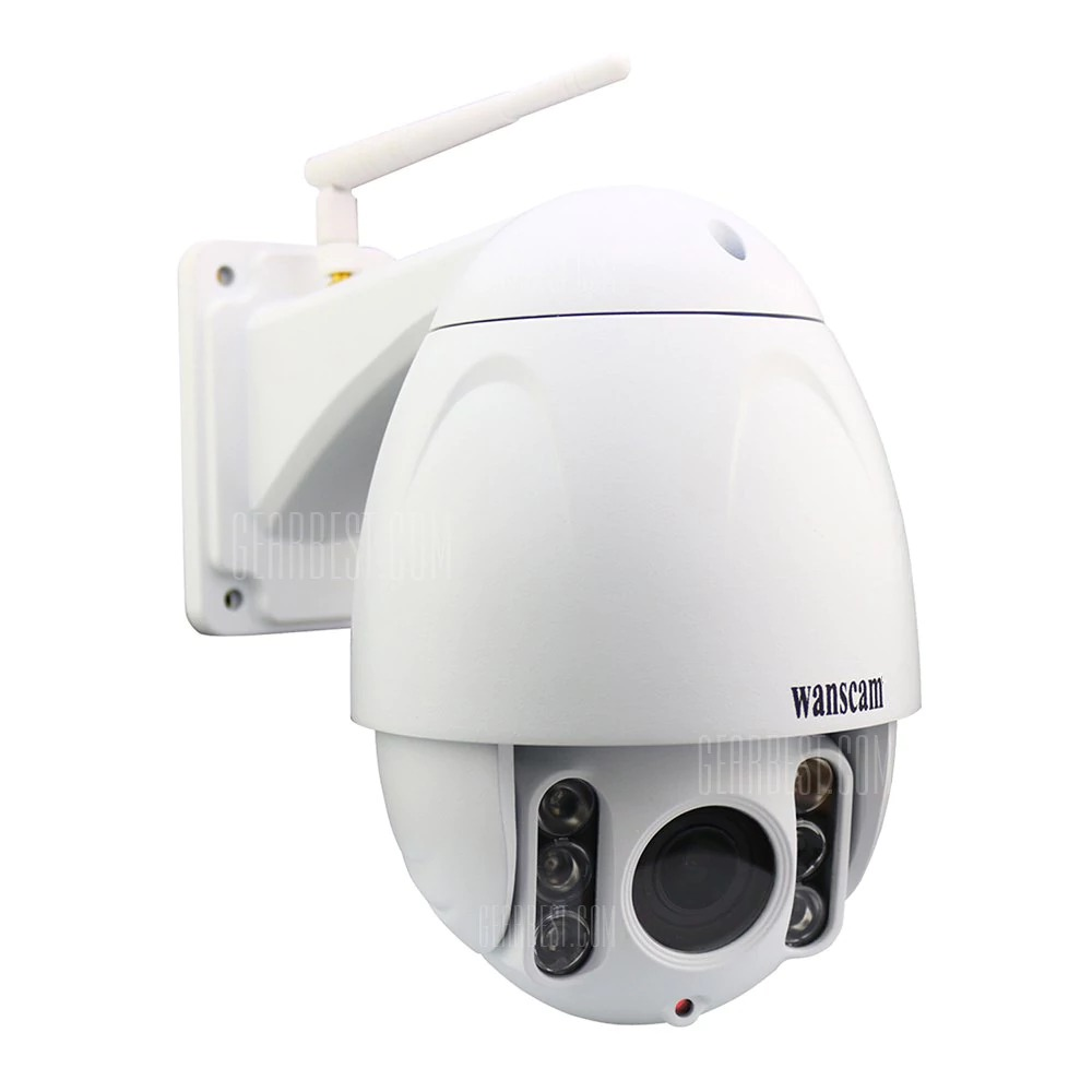 $97 with coupon for WANSCAM HW0045 WiFi 2MP IP Camera ...