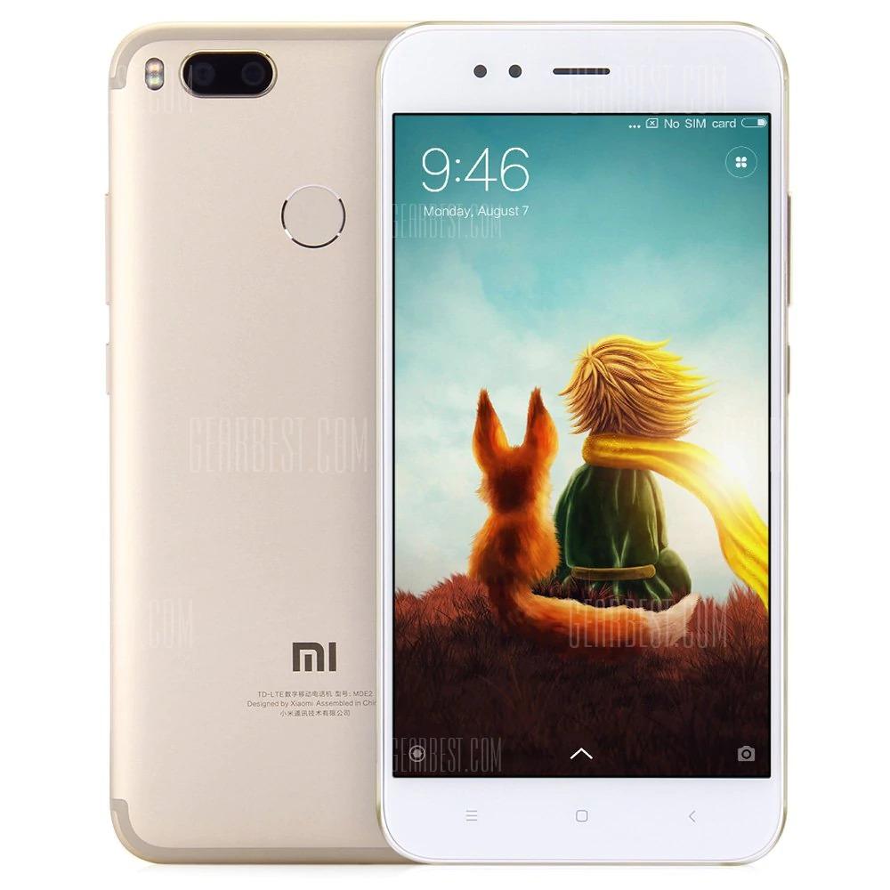 $189 flashsale for Xiaomi Mi 5X 32GB ROM 4G Phablet GOLDEN