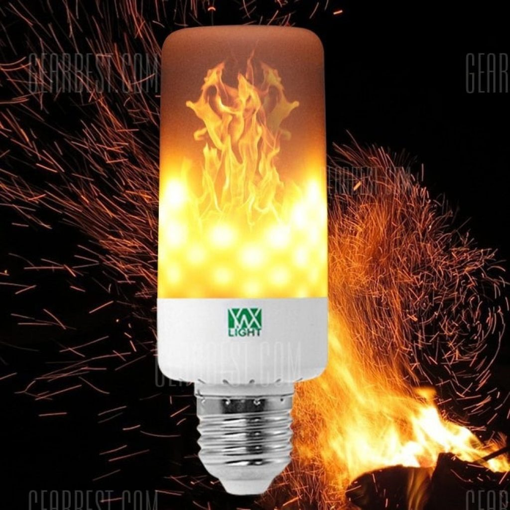 3 With Coupon For Ywxlight E27 Led Flame Effect Light