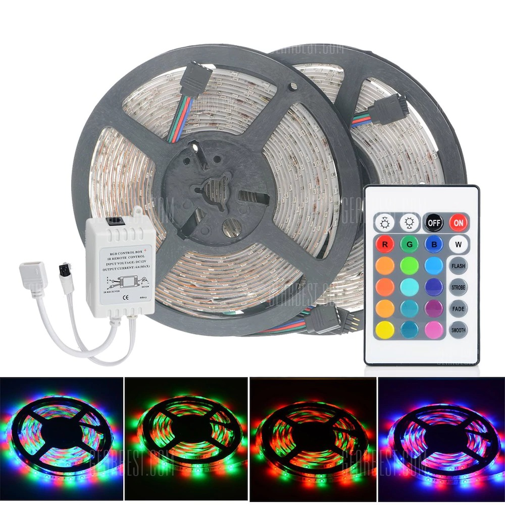 8 with coupon for 2pcs hml 5m 24w 300 smd 2835 rgb led strip light 8 with coupon for 2pcs hml 5m 24w 300 smd 2835 rgb led strip light rgb color from gearbest china secret shopping deals and coupons aloadofball Gallery