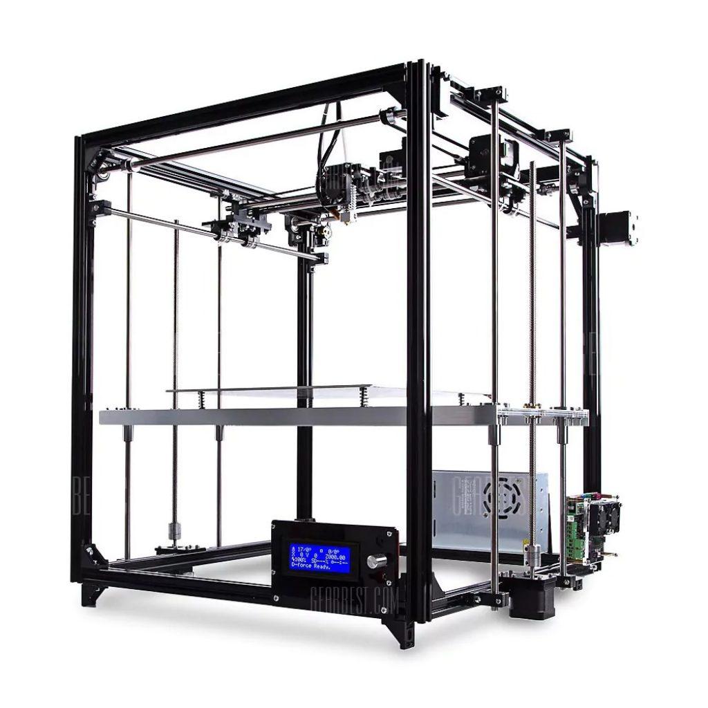305 Mit Gutschein Für FLSUN FL   C Cube Einfach Ausgestattet Rahmen 3D  Drucker Kit   SCHWARZ Von GearBest