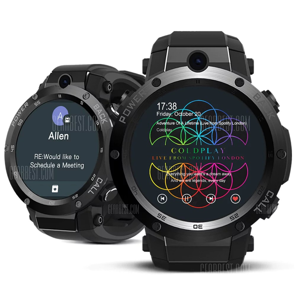 107 With Coupon For Zeblaze Thor S 3g Smartwatch Phone