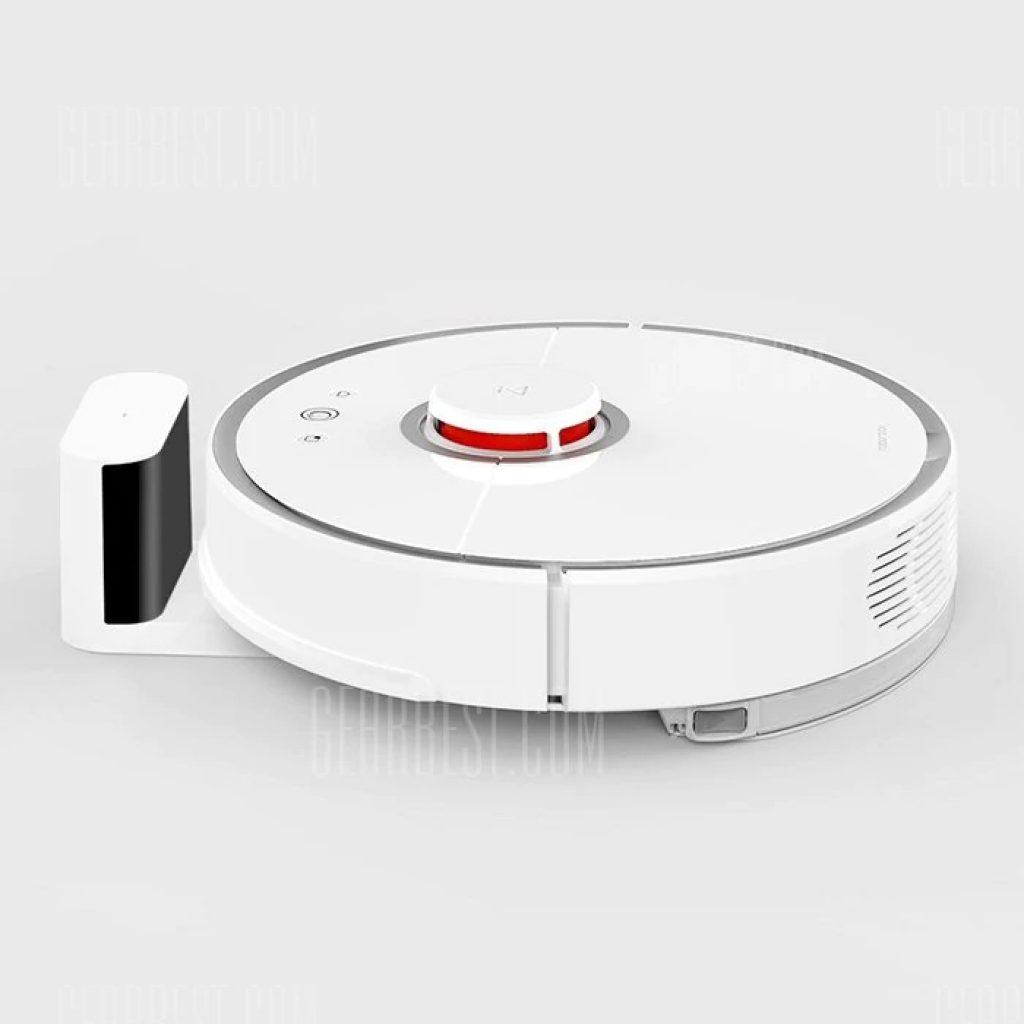 """Résultat de recherche d'images pour """"roborock S50 Smart Robot Vacuum Cleaner - WHITE SECOND-GENERATION gearbest"""""""
