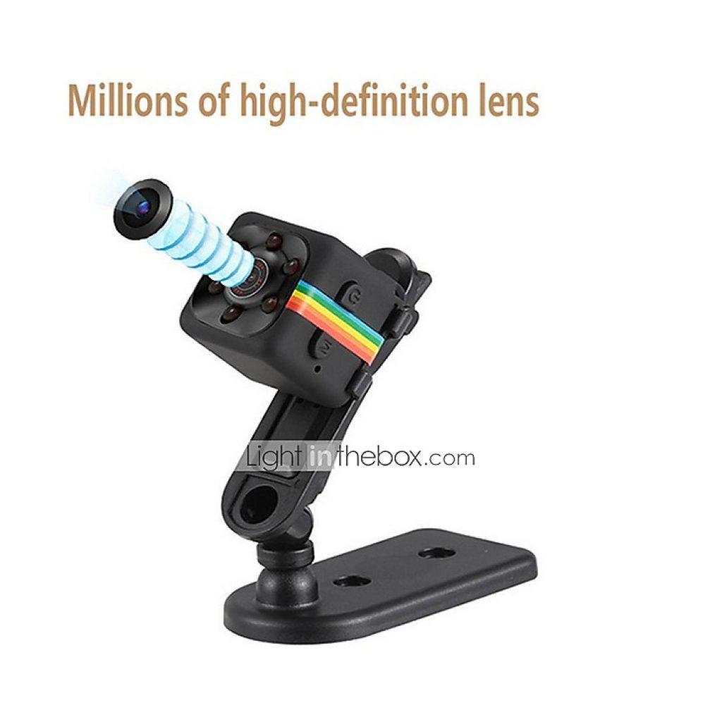 4 mit Gutschein für 1080P Mini Kamera SQ11 HD Camcorder Nachtsicht ...