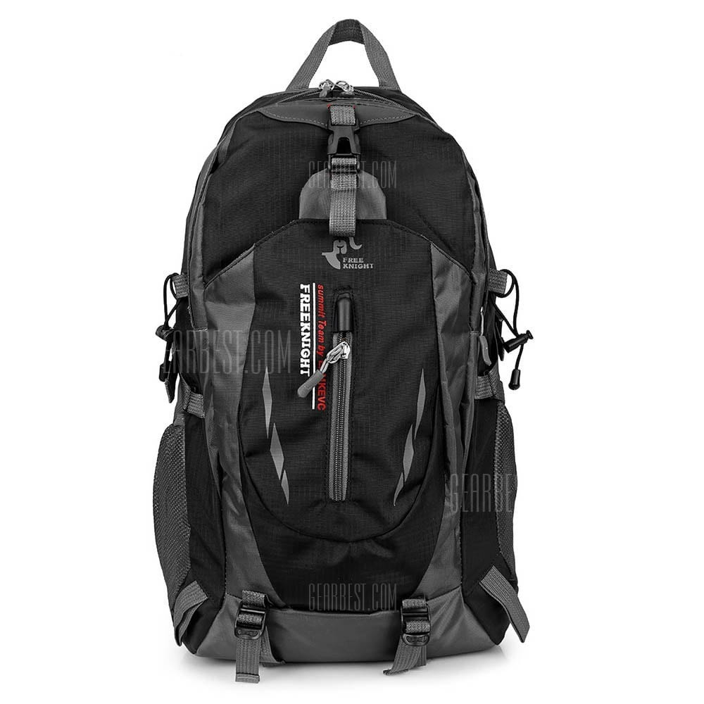 14 With Coupon For Free Knight Outdoor Hiking Bag Water Resistant Backpack Black From
