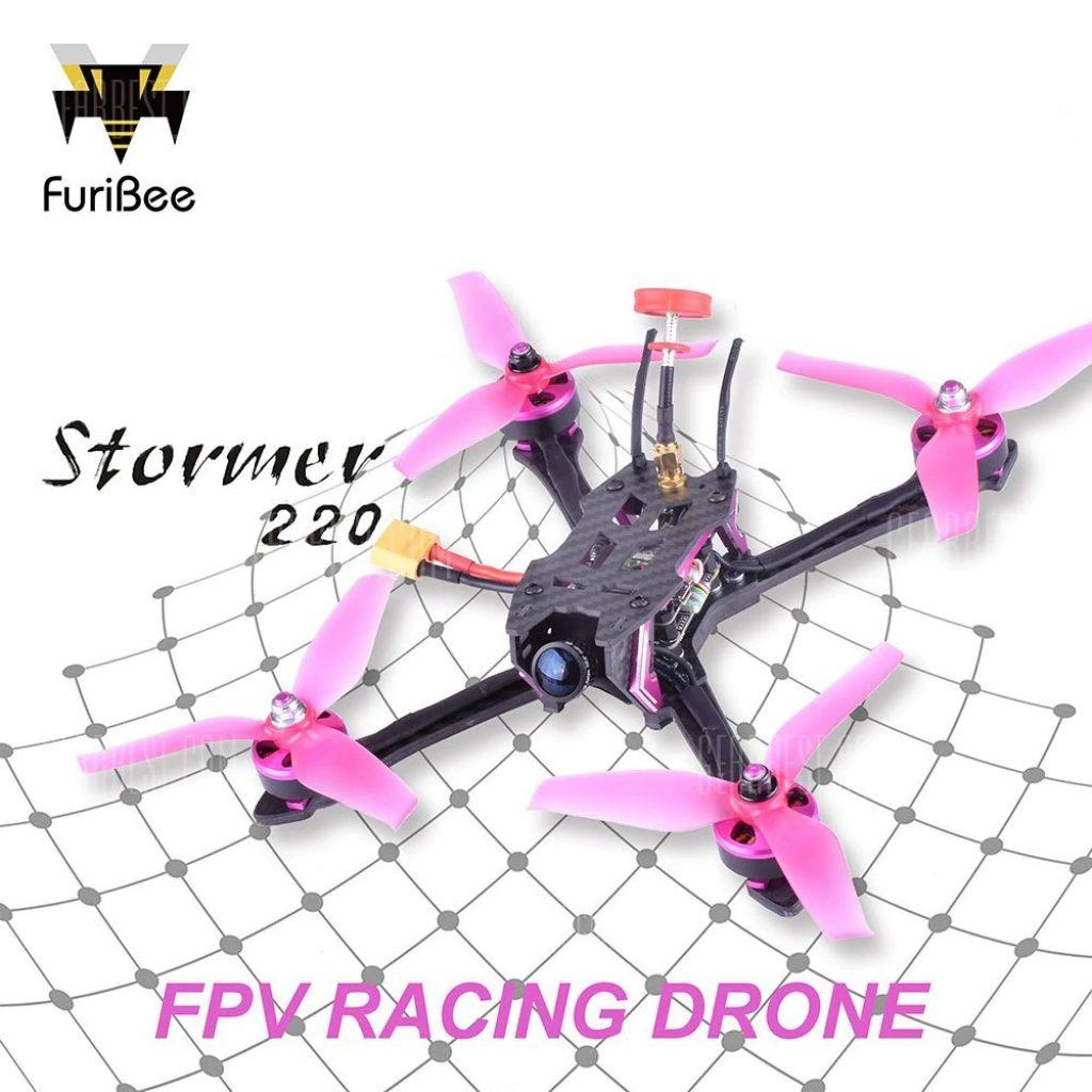 169 mit Gutschein für FuriBee Stormer 220mm FPV Racing Drone - BNF ...