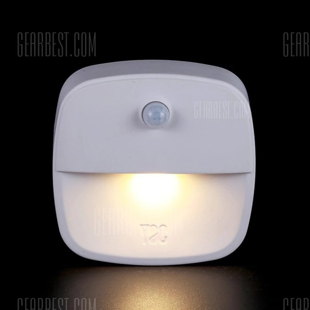 $9 flashsale for Intelligent Body Motion Sensor Night Light 3PCS ...