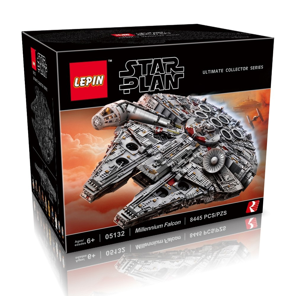 259 With Coupon For Original Box Lepin 05132 8445pcs Star