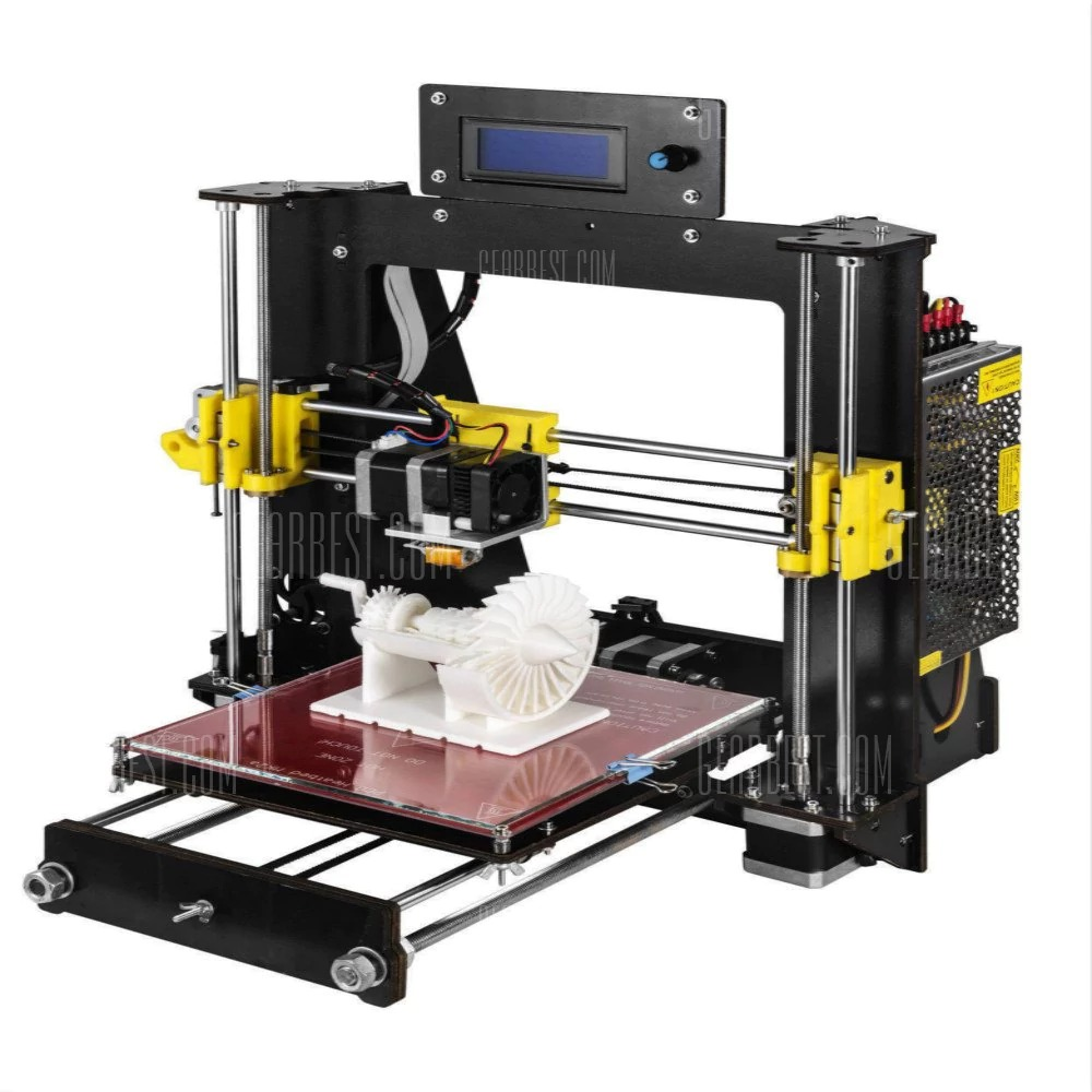 $175 With Coupon For 2018 NEW 3D Printer Prusa I3 Reprap