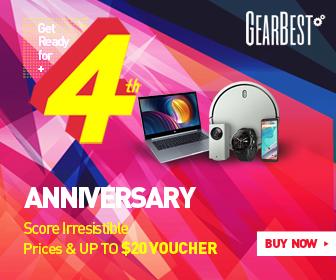 Aniversário do GearBest