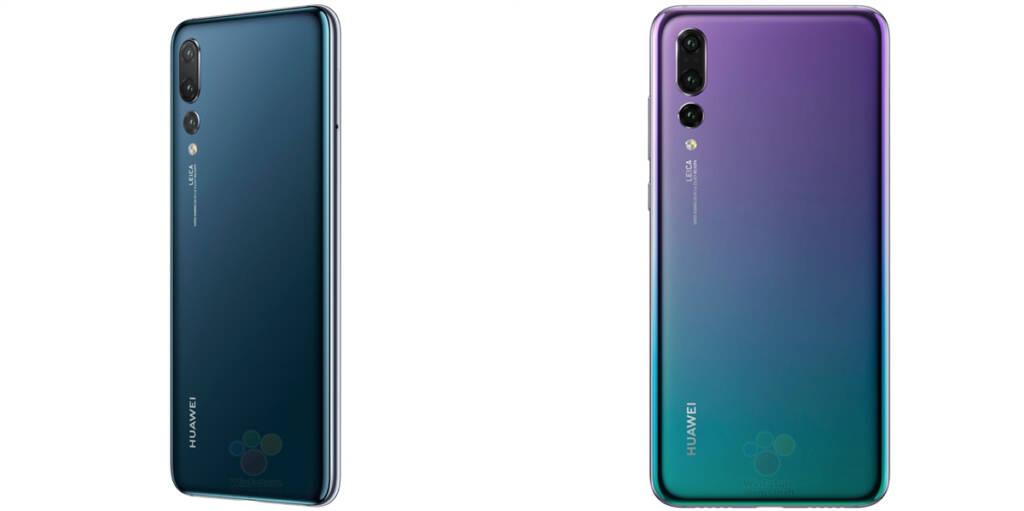 Huawei P20 Pro back