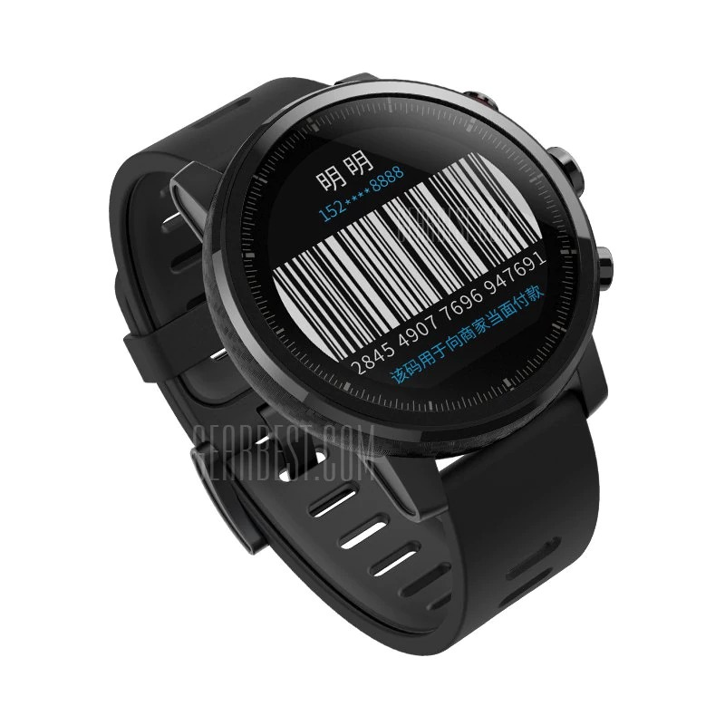159 With Coupon For Xiaomi Huami Amazfit Smartwatch 2