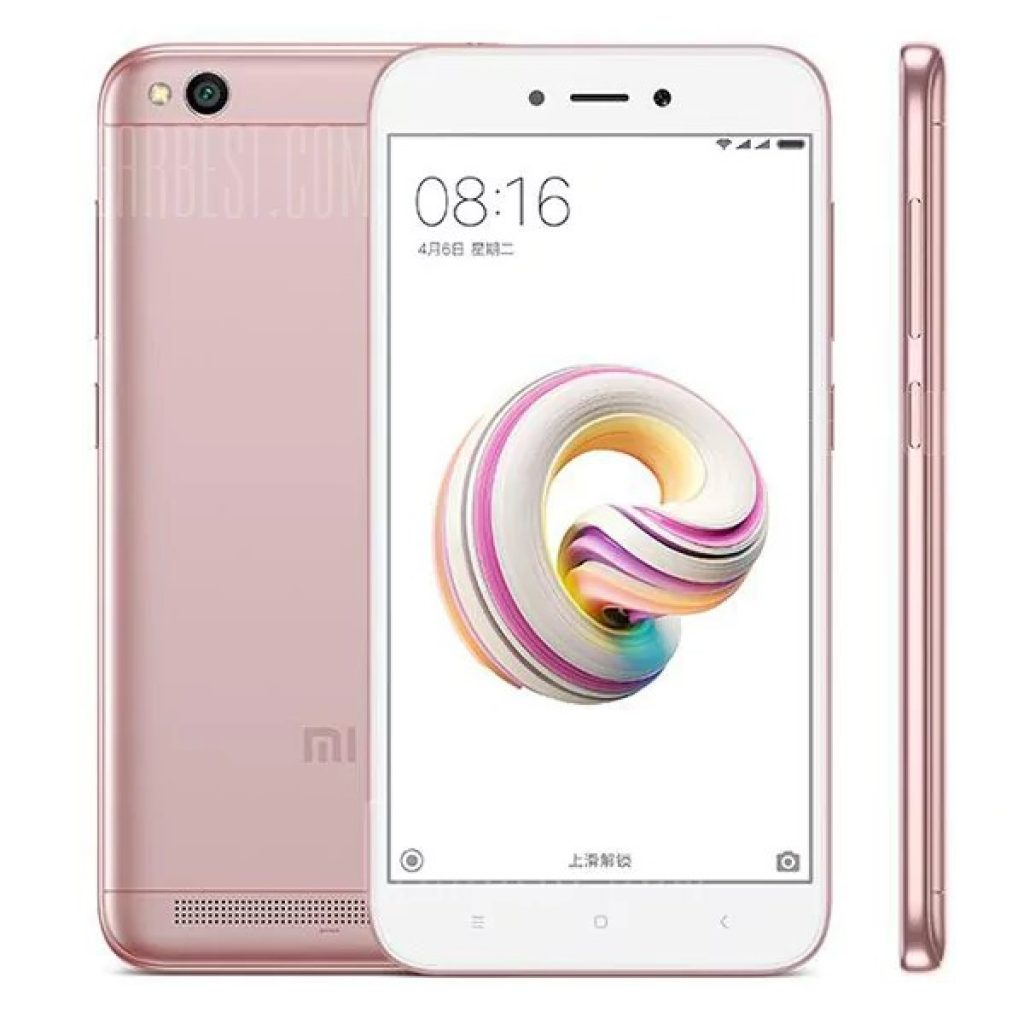 84 With Coupon For Xiaomi Redmi 5a 4g Smartphone 2gb Ram Global Xiomi 50 Inch Miui 8 Snapdragon 425 Quad Core 14ghz 16gb Rom 130mp Rear Camera 3000mah Battery