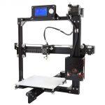 gearbest ، Anet A2 زائد الألومنيوم معدن 3D DIY الطابعة - الاتحاد الأوروبي التوصيل الأسود