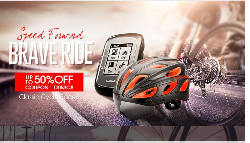 Banggood sports outdoor promotion sale coupon deals