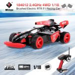 tomtop, Original WLtoys 184012 2.4GHz 4WD 45KMH Brushed Electric RTR F1 Racing RC Car