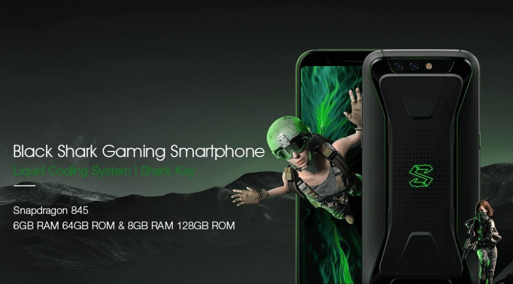 gearbest, coupon, geekbuying, Xiaomi Black Shark Gaming Phone 5.99 Inch Smartphone