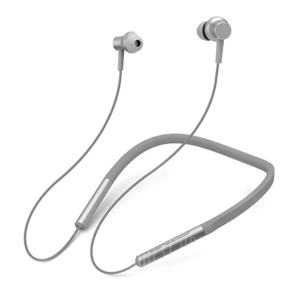 gearbest, Xiaomi LYXQEJ01JY Bluetooth Earphones Necklace Earbuds - GRAY