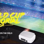 gearbest, Excelvan Q7 World Cup Memorial Projector