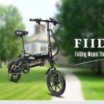 geekbuying, banggood, gearbest, FIIDO D1 Folding Electric Bike 7.8Ah Battery Moped Bicycle - ΜΑΥΡΟ