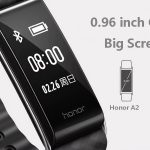 gearbest, HUAWEI Honor A2 Smart Bracelet - BLACK