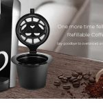 gearbest, NESPRESSO Refillable Coffee Capsule Cup Filter