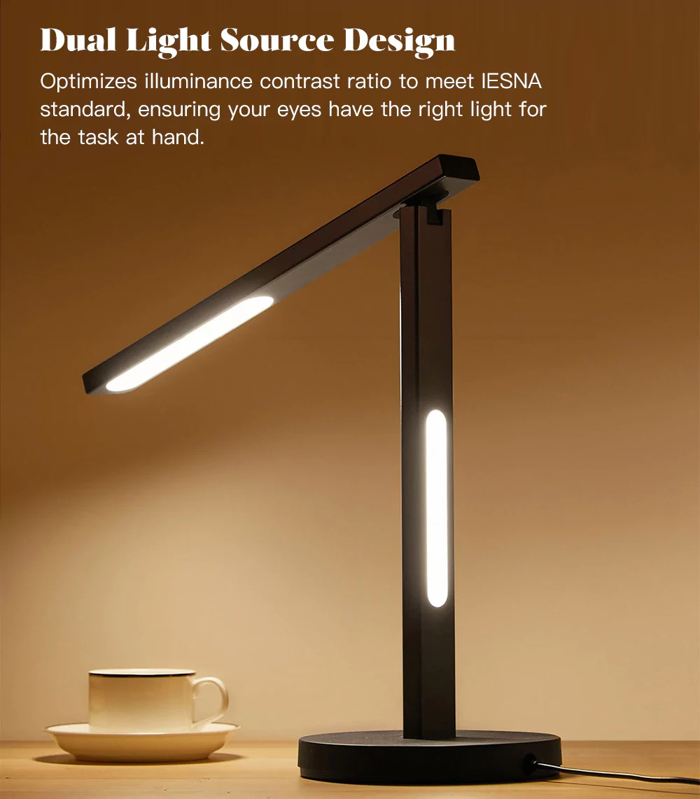 $58 With Coupon For PHILIPS Mijia Zhiyi LED Desk Light Stand Table Lamp    BLACK From GearBest   China Secret Shopping Deals And Coupons