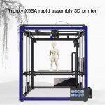 gearbest, Tronxy X5SA High Accuracy Big Power DIY 3D Printer - BLACK EU PLUG