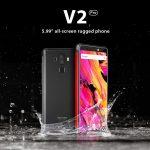 gearbest, Vernee V2 Pro 4G Phablet - RED