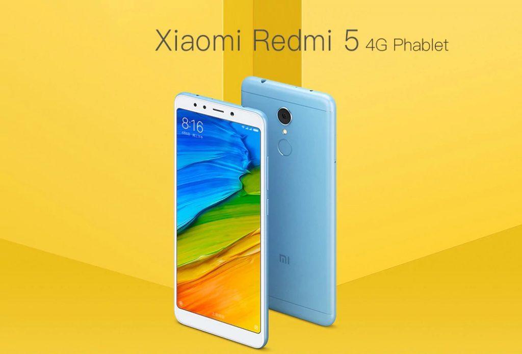 gearbest, Xiaomi Redmi 5 4G Phablet blue