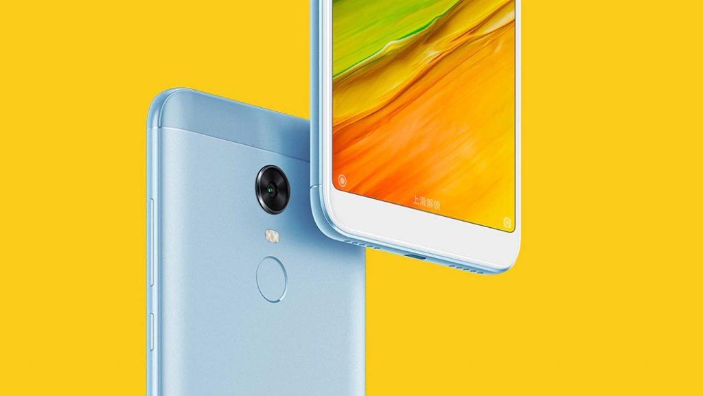 coupon, gearbest, Xiaomi Redmi 5 Plus 4G Phablet4 GB RAM Global Version - BLUE