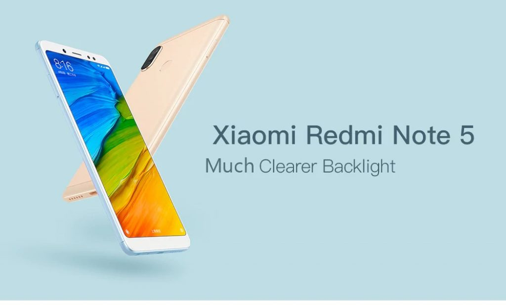 banggood, coupon, gearbest, Xiaomi Redmi Note 5 4G Phablet 3GB RAM Global Version - BLACK