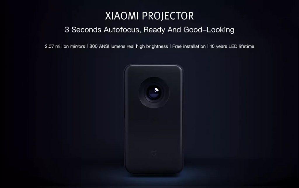 gearbest, Xiaomi TYY01ZM DLP 3500 Lumens Quad-core Projector
