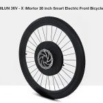 gearbest, YUNZHILUN 36V - X iMortor 26 inch Smart Electric Front Bicycle Wheel
