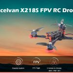gearbest, Excelvan X218S BLHeli - S F4 600TVL Camera FPV RC Drone - BLACK BNF ( FRSKY RECEIVER )