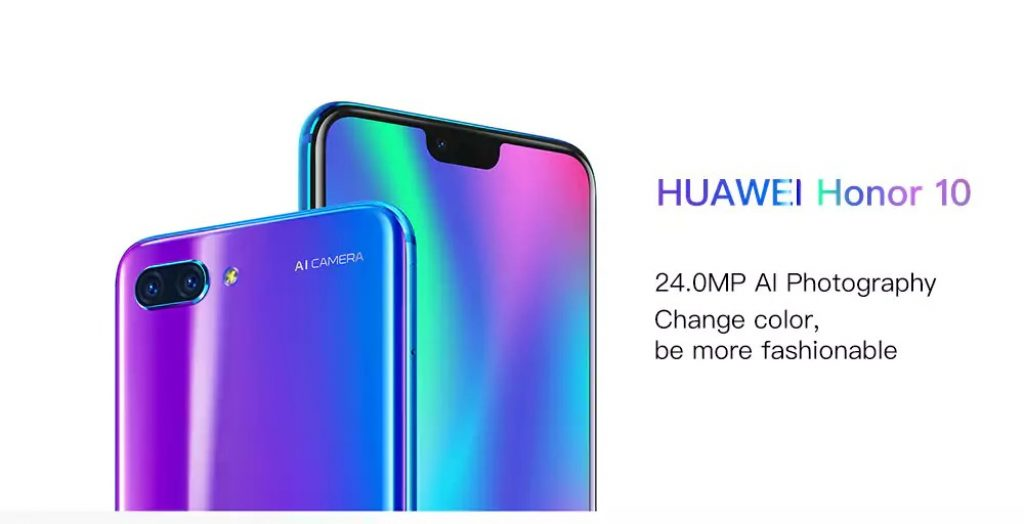 gearbest, HUAWEI Honor 10 4G Phablet