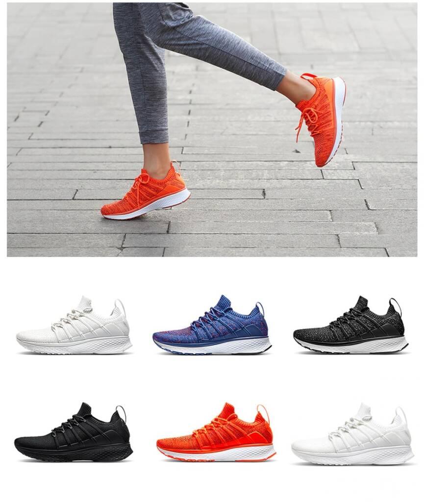 Fishbone Shock-absorbing Sole Sneakers