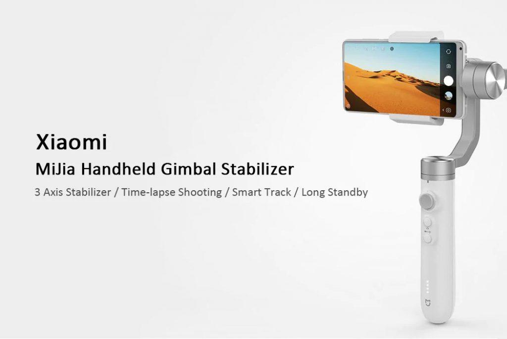 banggood, kupon, gearbest, Xiaomi Mijia SJYT01FM 3 Axis Handheld Gimbal Stabilizer